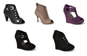 botas abertas ou sandalias fechadas