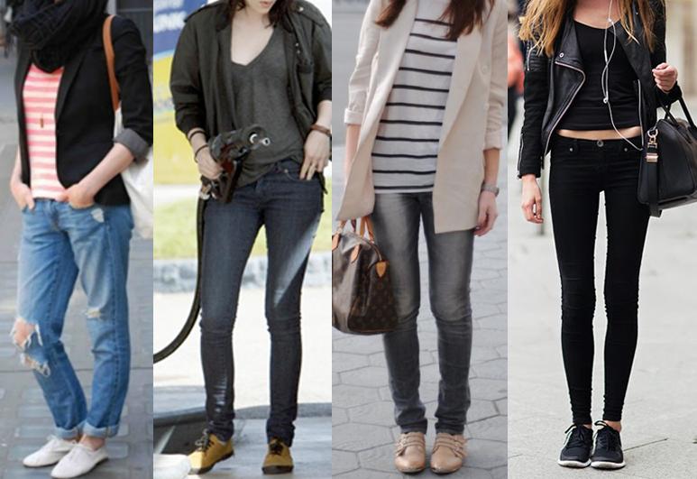 sapatenis jeans fem