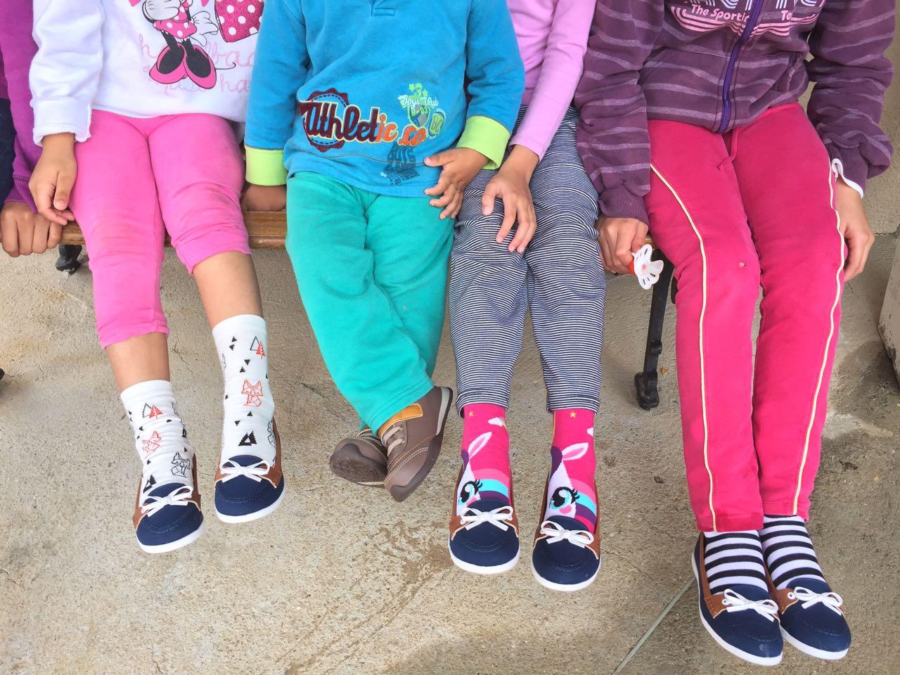 Omar Beira Rio  samaritans crianças