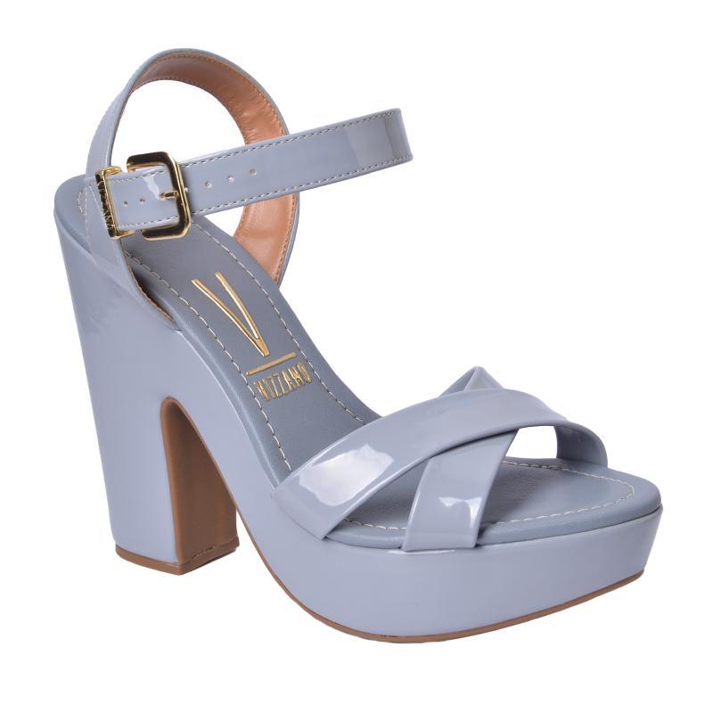 sandalia bloco vizzano azul